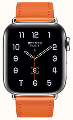 Boîtier Series 5 & Bracelet Apple Watch Hermès Simple Tour 40 mm