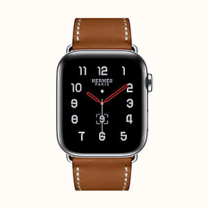 Gehäuse Series 5 & Armband Apple Watch Hermès Single Tour 44 mm