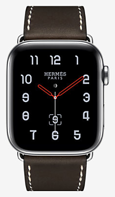 Apple Watch Hermès Series 4 Single Tour 44 mm Deployment Buckle - 1ST44DITBEBENE_KIT-H2240001v00-H074198CJ46