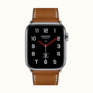 Apple Watch Hermès Series 4 Simple Tour 44 mm Boucle Déployante.