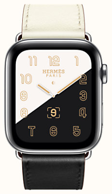 Cassa Series 5 e cinturino Apple Watch Hermès Simple Tour 44 mm
