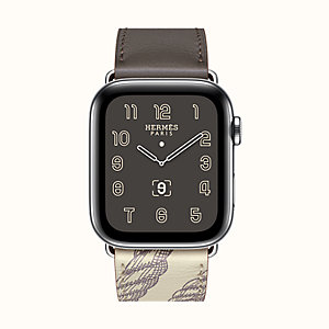 Boîtier Series 5 & Bracelet Apple Watch Hermès Simple Tour 44 mm