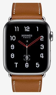 Apple Watch Hermès Series 4 Single Tour 44 mm - 1ST44WWFAUVE_KIT-H0240001v00-H077052CJ34