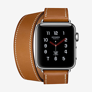 Apple Watch Hermès Series 3 Double Tour 38 mm - front