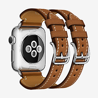 Apple Watch Hermes Strap Double Buckle Cuff 38 mm   Hermès fb589df6a4f