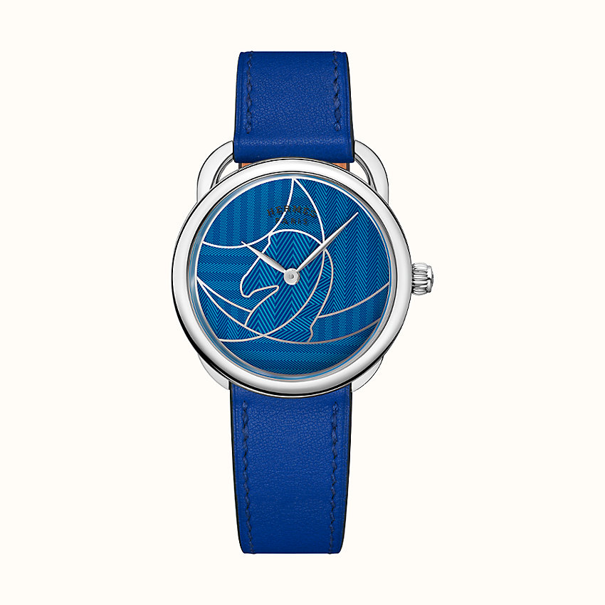 zoom image, Arceau Casaque watch, 36 mm