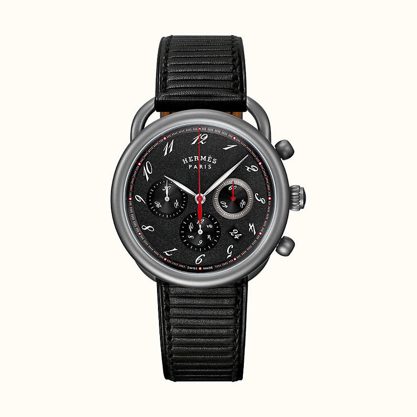 zoom image, Arceau Chronographe watch, 41 mm