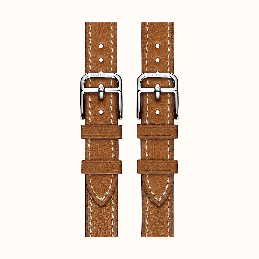 bild vergrößern, Armband Apple Watch Hermes Double Buckle Cuff  38 mm