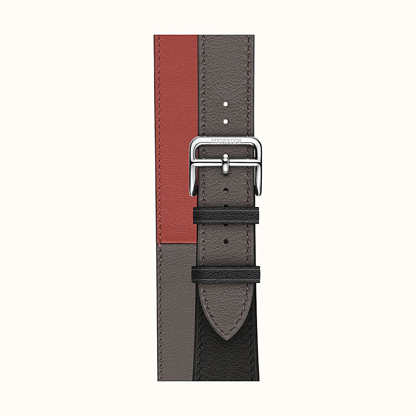 bild vergrößern, Armband Apple Watch Hermès Double Tour 40 mm