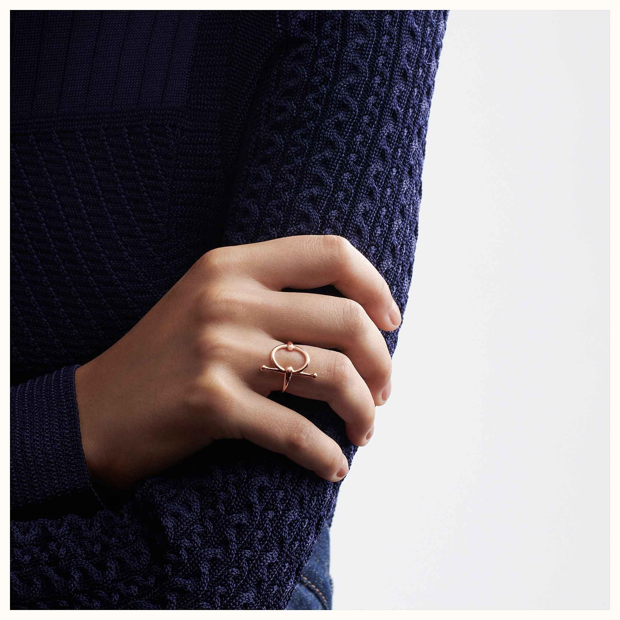 Bague Filet d Or, petit modèle   Hermès 7e887d4b6a4