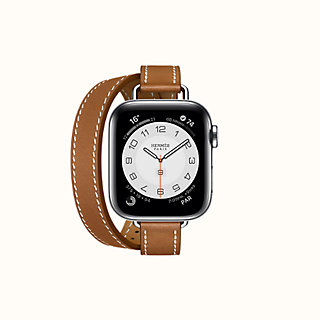 Band Apple Watch Hermes Double Tour 40 Mm Attelage Hermes Usa