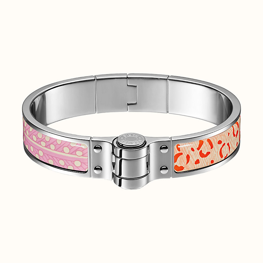 zoom image, Baobab Cat hinged bracelet