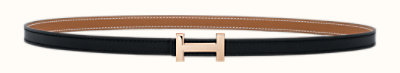 Focus belt buckle & Reversible leather strap 13 mm