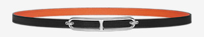 Gamma belt buckle & Reversible leather strap 13 mm -