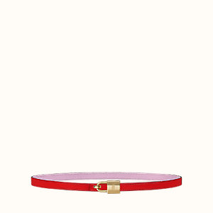 Romance belt buckle & Reversible leather strap 13 mm