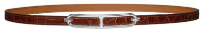 Romance belt buckle & Leather strap 13 mm