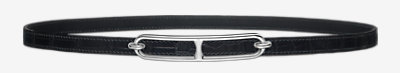 Roulis belt buckle & Leather strap 13 mm -