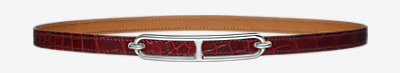 Roulis belt buckle & Leather strap -