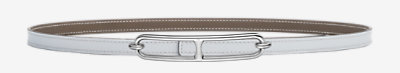 Gamma 13 belt buckle & Reversible leather strap -