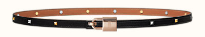 Romance belt buckle & Clous Medor leather strap 13 mm