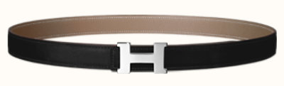 Mini Constance belt buckle & Reversible leather strap 24 mm