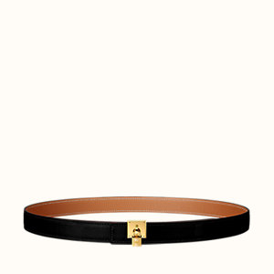 Tresor belt buckle & Reversible leather strap 24 mm