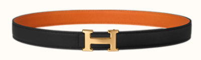 Mini 5382 belt buckle & Reversible leather strap 24 mm