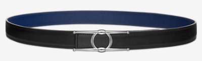 Sydney belt buckle & Reversible leather strap 24 mm -