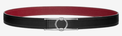 Sydney belt buckle & Reversible leather strap -