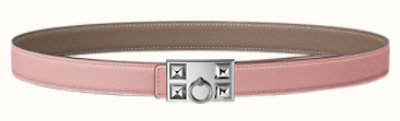 Collier de Chien belt buckle & Reversible leather strap 24 mm