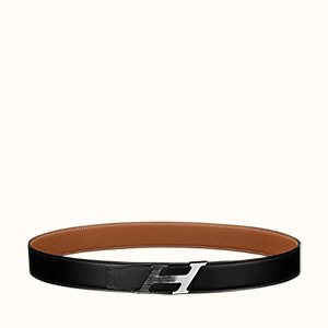 H Speed belt buckle & Reversible leather strap 32 mm