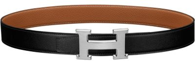 Tonight belt buckle & Reversible leather strap 32 mm
