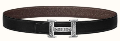 Touareg belt buckle & Reversible leather strap 32 mm