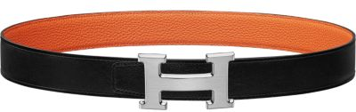 Rythme belt buckle & Reversible leather strap 32 mm