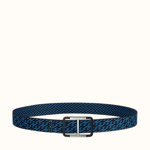 Trotteur belt buckle & H strap 32 mm