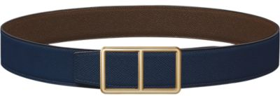 Constance belt buckle & Reversible leather strap 38 mm