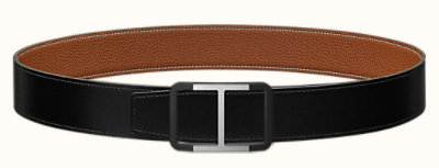 Trotteur belt buckle & Reversible leather strap 38 mm