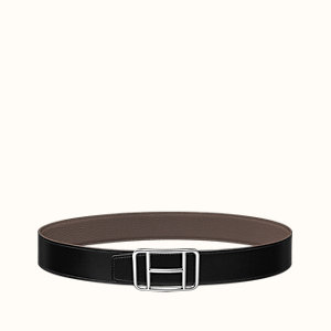 Cape Town belt buckle & Reversible leather strap 38 mm
