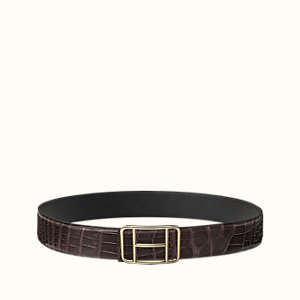 Cape Town belt buckle & Leather strap 38 mm