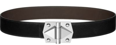 Constance 2 belt buckle & Reversible leather strap 42 mm