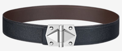 Constance 2 belt buckle & Leather strap 42 mm -
