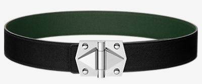 Constance 2 belt buckle & Reversible leather strap 42 mm -