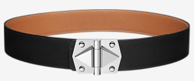 Constance 2 belt buckle & Reversible leather strap -