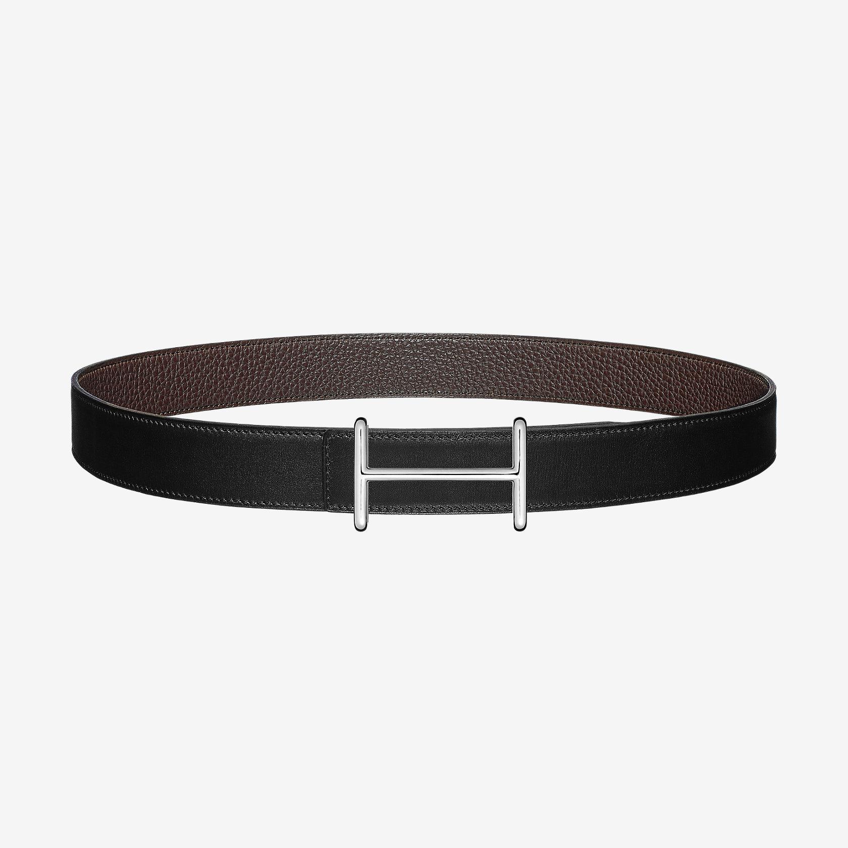 ef14226bce Boucle de ceinture Idem & Cuir de ceinture réversible 32 mm | Hermès