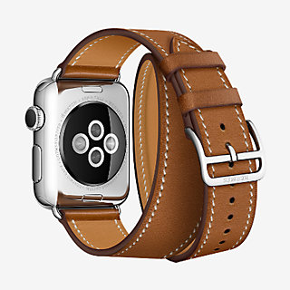 Bracelet Apple Watch Hermès Double Tour 38 mm , back