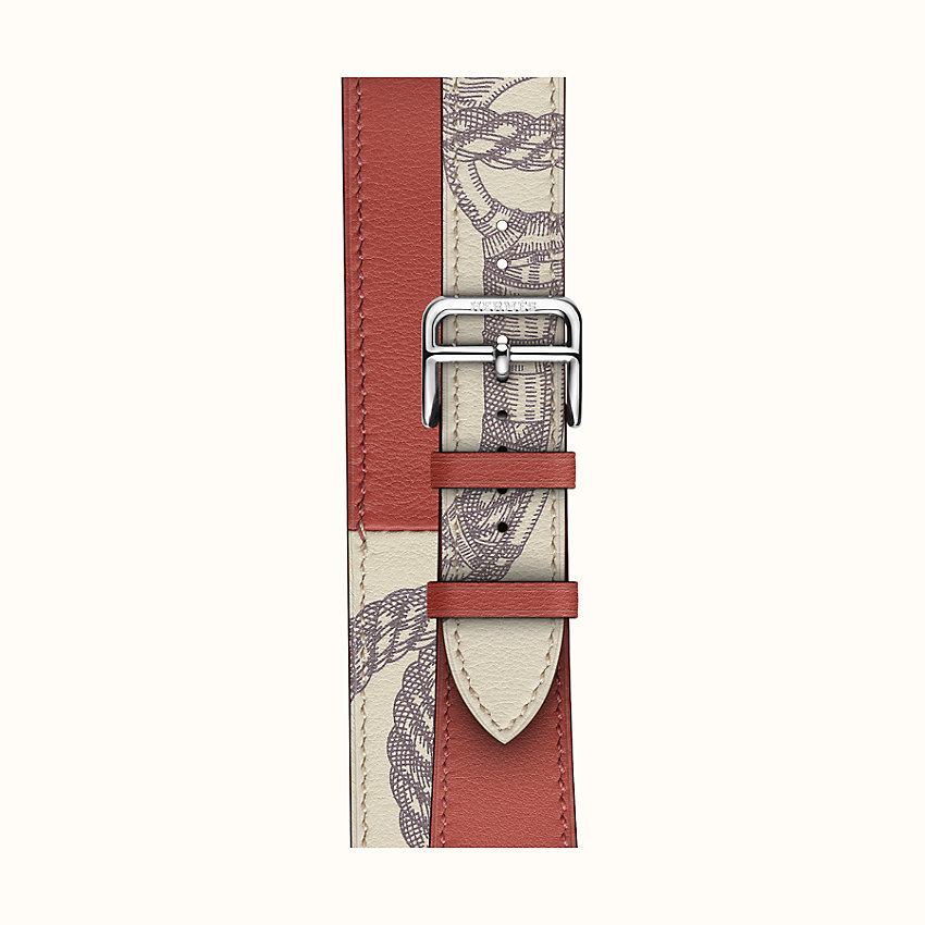 zoom image, Bracelet Apple Watch Hermès Double Tour 40 mm