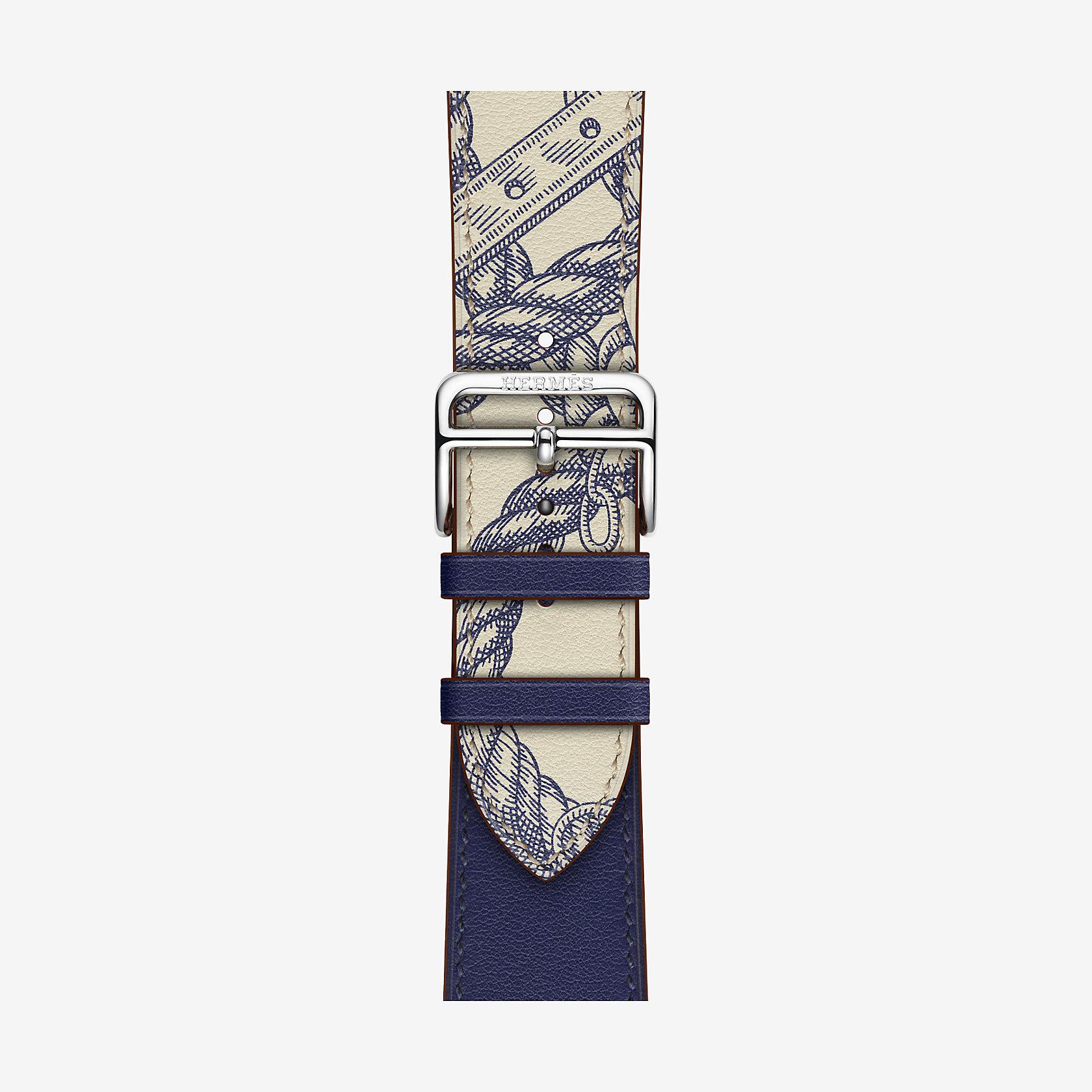 Bracelet Apple Watch Hermès Single Tour 44 mm