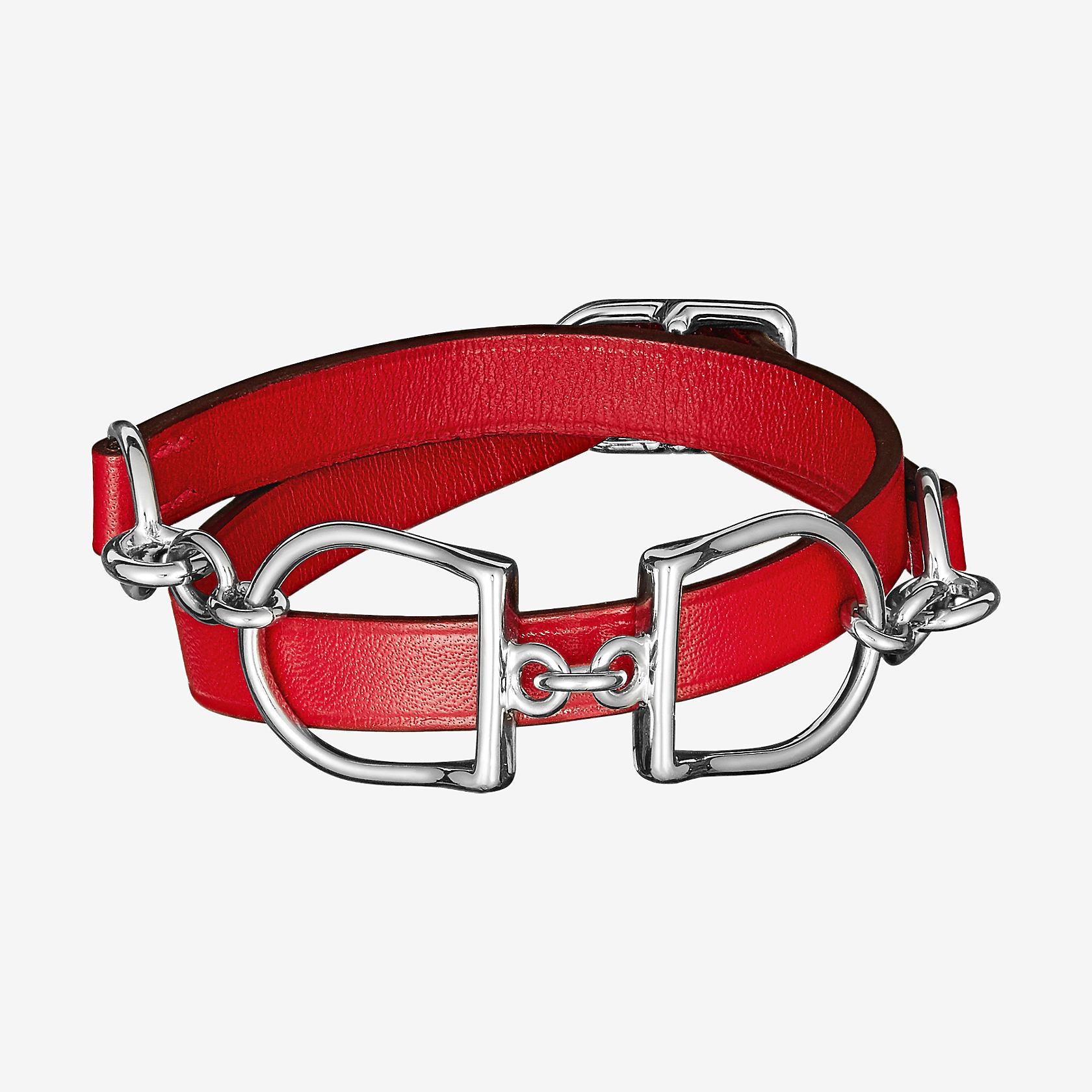 Bracelet Etrier Double Tour   Hermès 01b5ba9053a
