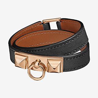 bracelet cuir double