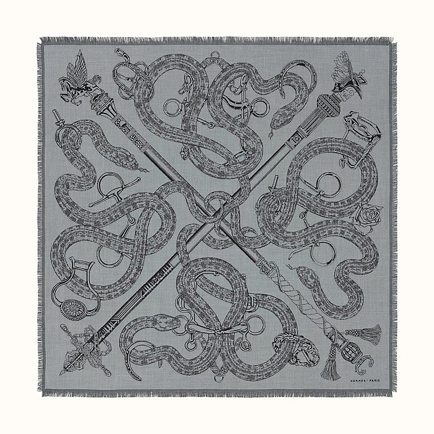 zoom image, Caducee Rock scarf 100